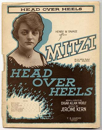 Mitzi Hajos - Head over Heels alternative cover