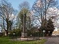 Heemstede, gedenksteen bij de Herenweg-Manpadslaan foto2 2014-04-13 15.45.jpg