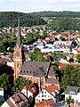 Heidenheim Pauluskirche vom Schloss 2.jpg