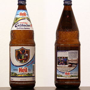 Apfelwein - Image: Heil Eschbacher Traditions Apfelwein