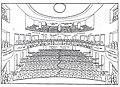 Heilbronn, Altes Theater, 2. Handskizze von Theodor Fischer für den Zuschauerraum (* 28. Mai 1862 in Schweinfurt; † 25. Dezember 1938 in München).jpg