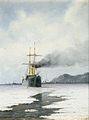 Heinrich Leitner Dampfschiff im Eismeer 1896.jpg