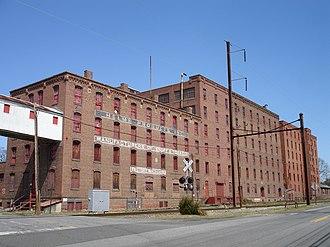 Helmetta, New Jersey - The Helmetta Snuff Mill in Spring 2012
