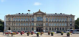 Ateneum - Ateneum building by Theodor Höijer