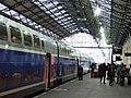 Hendaye station - last stop in France, on the Spanish border - Flickr - TeaMeister.jpg