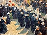Henri-Gabriel Ibels La procession.jpg