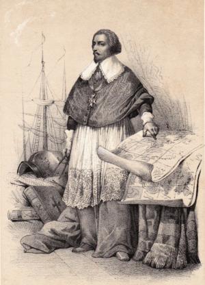 Henri de Sourdis - Henri de Sourdis, as depicted in 1845