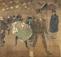 Henri de Toulouse-Lautrec - Panneaux pour la baraque de la Goulue, à la Foire du Trône à Paris - Google Art Project.jpg