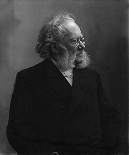 Henrik Ibsen by Gustav Borgen NFB-19778