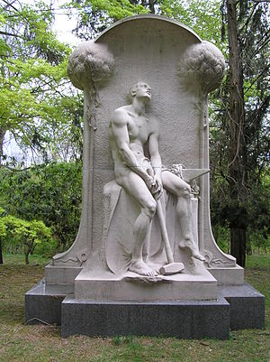 Sleepy Hollow Cemetery - Henry Villard Memorial by Karl Bitter