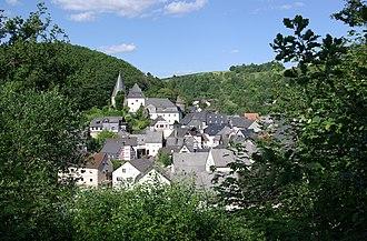 Herrstein - View of Herrstein