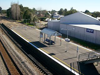 High Street railway station, New South Wales