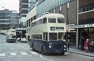 West Midlands Passenger Transport Executive - Buses in WMPTE livery, in 1975