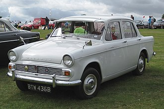 Hillman Minx - Image: Hillman Minx Series V 1592 cc first registered March 1964