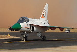 HAL Tejas - HAL Tejas at Aero India 2007
