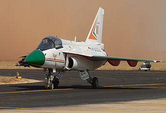 HAL Tejas - HAL Tejas at Aero India 2007