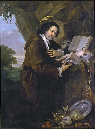 Thelema - Portrait of Francis Dashwood, 11th Baron le Despencer, by William Hogarth from the late 1750s