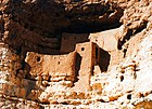 Hohokam cliff dwelling (Montezuma Castle), Arizona.jpg