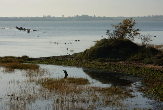 Holbrook Creek and the Stour estuary - geograph.org.uk - 1602041