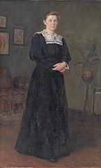 The Painter Ane Marie Hansen