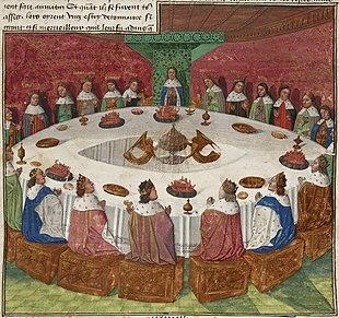 Graal wikip dia - Le cycle arthurien et les chevaliers de la table ronde ...