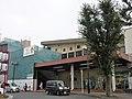 Honjō Station north.jpg