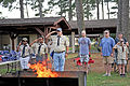 Honoring a symbol, Team Seymour holds flag retiring ceremony 140614-F-OB680-085.jpg