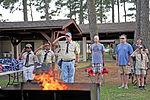 Honoring a symbol, Team Seymour holds flag retiring ceremony 140614-F-OB680-085.jpg