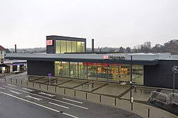 Horrem Bahnhof Vorderansicht (2)