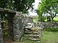 Horse mounting block and steps, Llantrisant Old Church - geograph.org.uk - 1353767.jpg