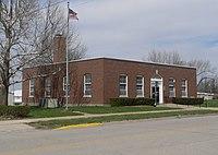 Horton, KS post office from SE 1.JPG