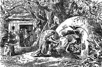 Hansel and Gretel - Illustration by Theodor Hosemann