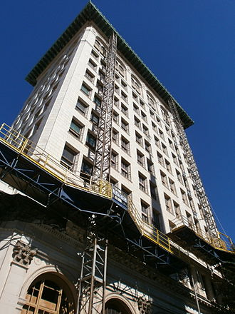 First National State Bank Building - Undergoing renovation Fall 2012