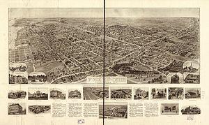 Freeport, New York - 1909 Hughes & Bailey map