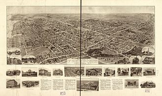 Freeport, New York - 1909 Hughes & Bailey map