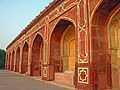 Humayun Tomb, Delhi, niches below the main platform.jpg