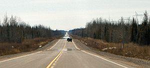 Ontario Highway 655 - Highway 655 is straight...