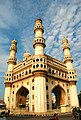 Hyderabad's beautiful Charminar, on a lovely sunny morning.jpg