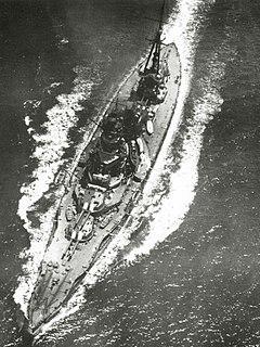Japanese battleship <i>Hyūga</i> Ise-class battleship