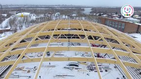 Файл:ICE STADIUM «YENISEI» - 29th Winter Universiade 2019 - Krasnoyarsk.webm