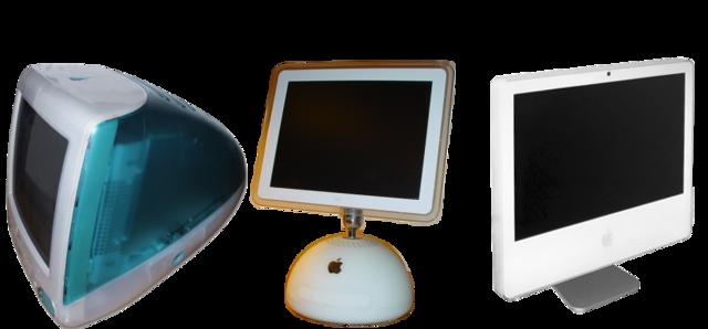 iMac G3 «Bondi Blue», iMac G4, iMac G5
