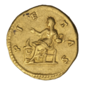 INC-2063-r Ауреус. Луцилла. Ок. 164—169 гг. (реверс).png