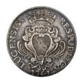 INC-c819-a Скудо Лукка 1741 г. (аверс).png
