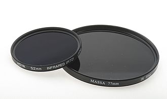 Infrared photography - Infrared Filters