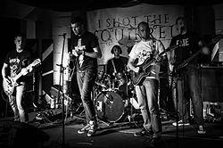 Live 2014 auf dem Geburtstag des ORWOhaus, Berlin
