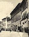I quattro Palazzi Manni in via Pacini (già via dello Spedale) ai primi del novecento.jpg