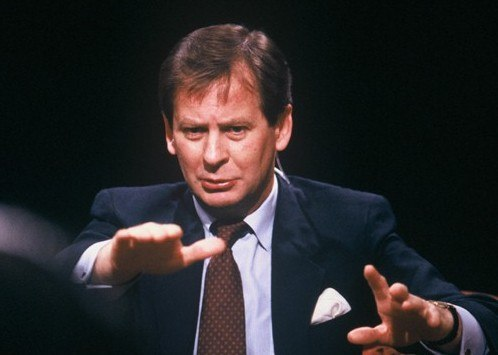 Ian Kennedy hosting After Dark in 1987