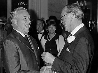 Ian Player - Ian Player and Prince Bernhard of Lippe-Biesterfeld (1981)