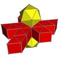 Icosahedral prism net.png