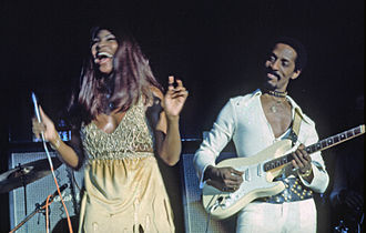 1972 in music - Image: Ike & Tina Turner 231172 Dia 14